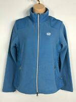BNWT WOMENS NORTH END ECO BLUE ZIP UP CASUAL WARM FLEECE COAT JACKET SIZE SMALL