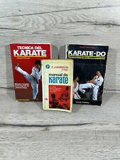 Pack de Libros de Karate Antiguos Buen Estado Autodidacta Artes Marciales