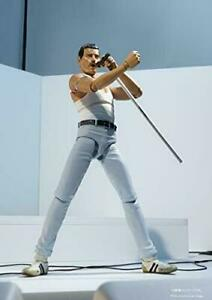 Bandai Queen Freddie Mercury Live Aid Ver S.H.Figuarts Action Figure from JAPAN