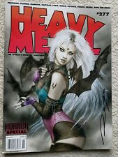 Heavy Metal Magazine #277 Horror Special Signed by Luis Royo Variant