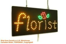 Florist Neon Sign LED Open Sign Store Sign Business Sign Window Sign