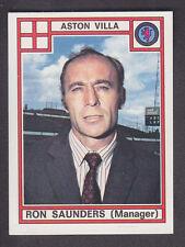Panini - Football 78 - # 24 Ron Saunders - Aston Villa
