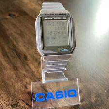 RARE Vintage 1996 Casio VDB-200 Memory Protect Touch Screen Watch, Made in Japan
