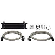 Mishimoto Universal Oil Cooler Kit, Black - MMOC-UBK - Non Thermostatic