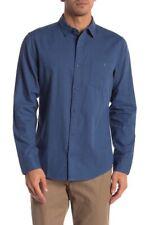 Wallin & Bros Long Sleeve Bedford Casual Shirt Blue Ensign