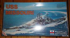 ESCI WATERLINE 1/1200 USS MISSOURI 404