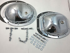 Chrome Steel Differential Cover Kit For Jeep Wrangler TJ 97-06 Fits Dana 30/ 35