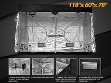 Hydroponic Reflective 600D 10x5' Grow Tent 100% Room Indoor Mylar Growing Corner