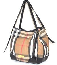 Burberry Signature Bridle House 'Canterbury Tote, Pre-owned 1(See Condition)$895