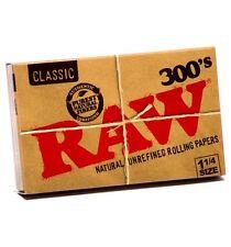 10 RAW 300 Natural  . Papel de fumar liar tabaco , natural sin blanqueantes