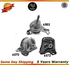 Engine  Motor  Mount Set For 98-02 Honda Accord 2.3L Auto 6572 6570 6583