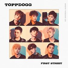 TOPPDOGG - First Street (1st Album) CD +Photobook+Photocard+Gift Photo