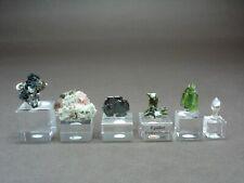 S-Verkleinerung, Thumbnail-Lot Alpin mit Eisenrosen, Rosafluorit, Epidot Titanit