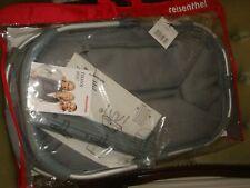 bnwt reisenthel shopper bag carrier basket rrp £45 in grey white spot design