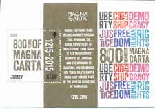 Jersey-Magna Carta min sheet mnh -Historical Events