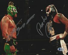 Pentagon Jr Rey Fenix Signed 8x10 Photo BAS Beckett COA Lucha Impact Wrestling 1