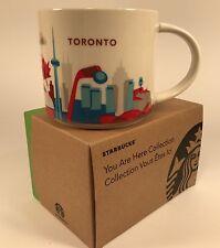 New Starbucks You Are Here Series Toronto 14oz Mug NIB with Sku Free Ship!