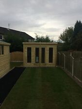 12x12 19mm Heavy Duty Tanalised Pressure Treated Summerhouse Shed