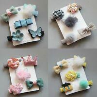 Fashion Hairpin Baby Girl Hair Clip Bow Flower Mini Barrettes Star Kids Gift&L N