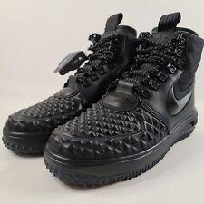 Nike Lunar Air Force 1 Duckboot '17 Black Anthracite AF1 Boots 916682-002 Sz 7.5