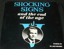 JACK VAN IMPE Shocking Signs End of the Age LP STILL SEALED 1960 XIAN SERMON