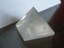 cristalloterapia PIRAMIDE PIETRA QUARZO IALINO cristallo rocca soprammobile A++