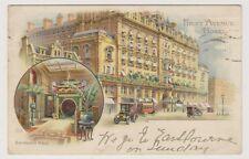 London postcard - First Avenue Hotel, Entrance Hall, High Holborn, London