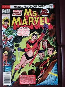 Ms Marvel 1. 1977 Carol Danvers.