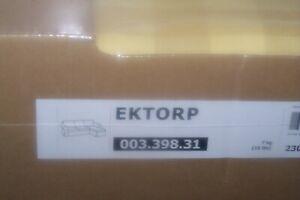 New Ikea Ektorp 3 seat sofa + chaise COVER SET  in Skaftarp yellow
