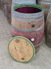 225L Weinfass Regentonne mit original Fassfront Deckel, Wasserfass aus Holz