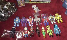 "SALE 1/3 OFF Kidrobot Transformers vs GI Joe Lot Of 15 Mini 3"" Set Figure Flagg"