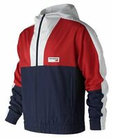 New Balance Men's Nb Athletics Windbreaker Red