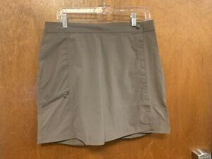 LL Bean Comfort Trail Bottoms Skort W/ Sunsmart Protection Size 10 NWT