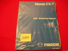 ORIGINAL NEW & SEALED FACTORY 2007 MAZDA CX-7  BODYSHOP MANUAL