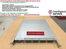 HP StorageWorks 4/32 SAN Switch With 16 Active Ports  -  A7537A