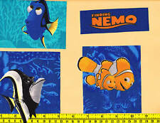 Disney Finding Nemo Fabric Iron Ons  -style#4 Adorable!