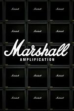 MARSHALL TUBE AMP STACK POSTER (61x91cm)  PICTURE PRINT NEW ART