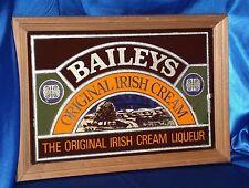 Baileys Irish Cream Bar Decor ~ Baileys Irish Cream Vintage Bar Mirror Sign 1981