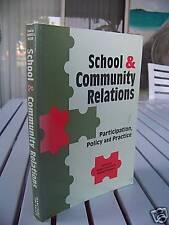 SCHOOL & COMMUNITY RELATIONS BY BRIGID LIMERICK 1995