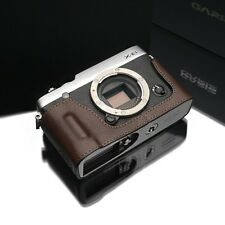 GARIZ leather case Fujifilm Fuji XE1 XE2 HG-XE2BR Brown