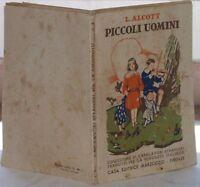 ANNI '40 LOUISA ALCOTT PICCOLI UOMINI ILLS FABIO FABBI