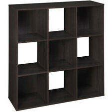 Storage Cube Organizer Cubbie Home Decor Book Display Case Shelf Cubbie Shelves