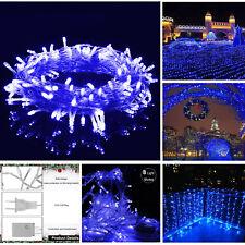 Christma 100 LED Fairy String Lights Wedding Xmas Party Outdoor Decor Lamp 10M