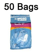 Type Y Vacuum Bags for Hoover Windtunnel Microfiltration 50 Pack
