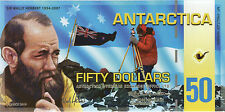 Antarctica 50 Dollars 2010 Pick 15 (1) Polymer