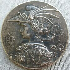 1892 France Silver Medal For Great National Military Shooting 66.3g 50mm