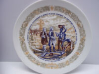 D'Arceau Limoges Collectible Plate Anthony Lafayette South Carolina Victoire