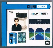 GIUNI RUSSO  COLLECTION  VOX / MEDITERRANEA  2LP IN 1CD CD SIGILLATO!!!