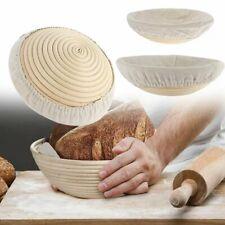 8 Pcs Set - Bread Banneton Proofing Basket 10 Inch + 9 Inch round Baskets