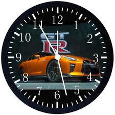 Nissan GTR Black Frame Wall Clock Nice For Decor or Gifts E290